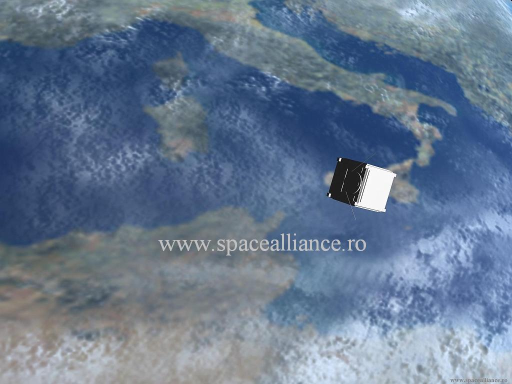 Romania, aflata la prima sa experienta spatiala cu satelitul Goliat ...